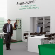 Messestand-Visualisierung